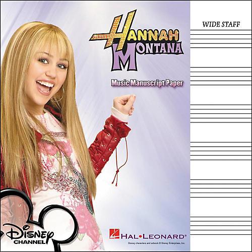 Hal Leonard Hannah Montana Manuscript Paper-thumbnail