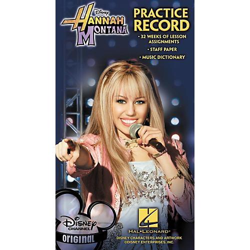 Hal Leonard Hannah Montana Practice Record