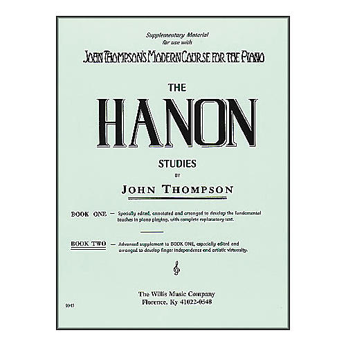 Willis Music Hanon Studies Book Two Mid-Intermediate Level Piano