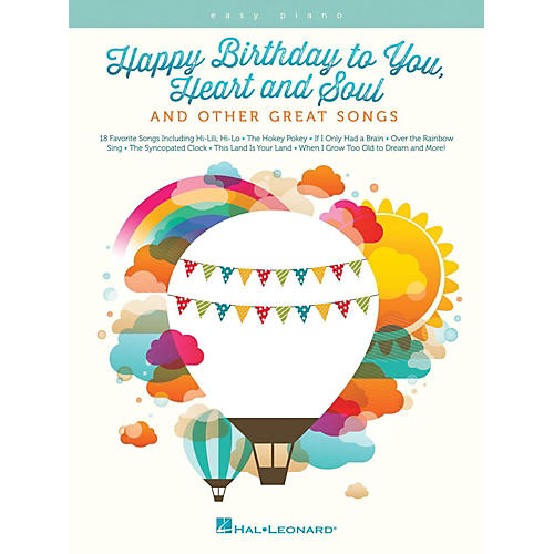 Hal Leonard Happy Birthday To You, Heart And Soul, And Other Great Songs For Easy Piano-thumbnail