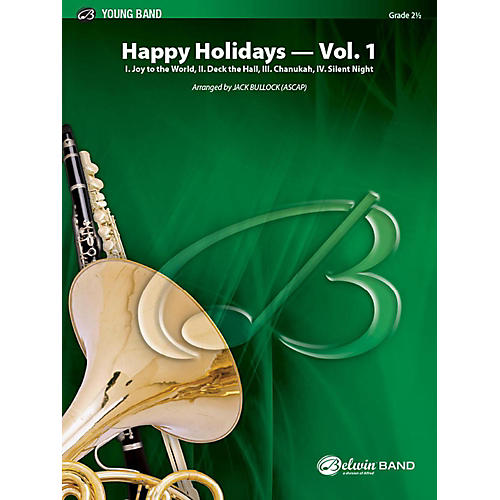Alfred Happy Holidays, Vol. 1 Concert Band Grade 2 Set