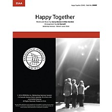 Hal Leonard Happy Together SSAA A Cappella arranged by Liz Garnett
