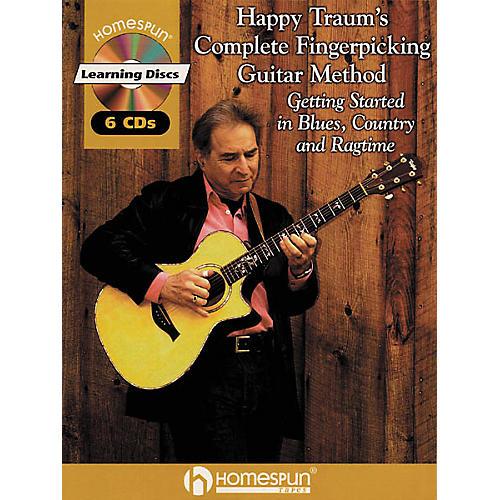 Homespun Happy Traum's Fingerpicking Method CD Set