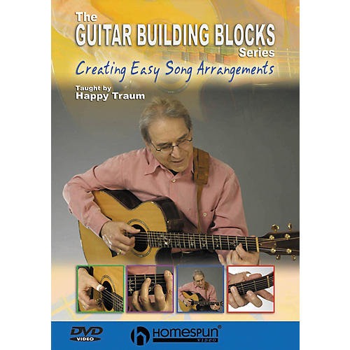 Homespun Happy Traum's Guitar Building Blocks: Arrangements 4 (DVD)