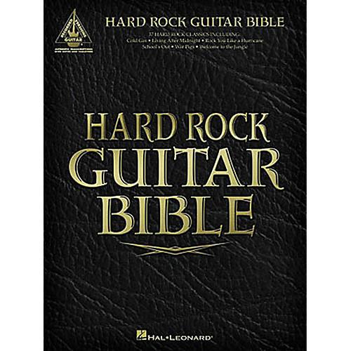 Hal Leonard Hard Rock Guitar Bible Tab Songbook
