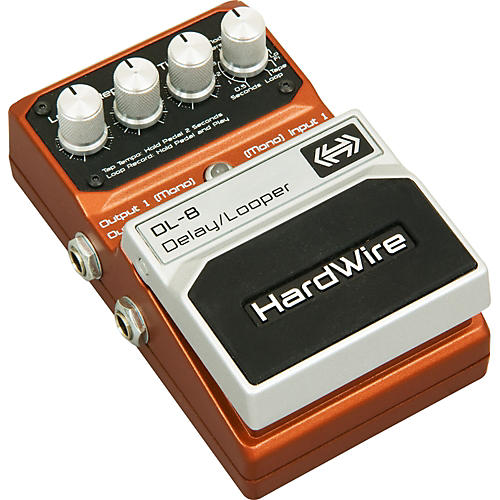 Digitech HardWire DL-8 Delay/Looper Guitar Effects Pedal-thumbnail