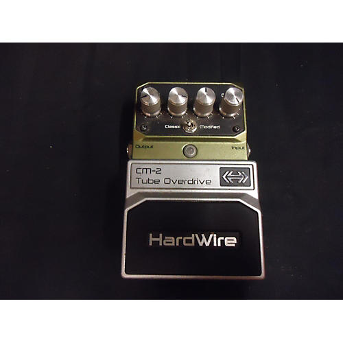 Digitech HardWire Series CM2 Tube Overdrive Effect Pedal-thumbnail