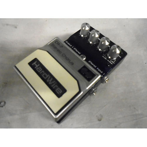 Digitech HardWire Series CR-7 Stereo Chorus Blue Effect Pedal