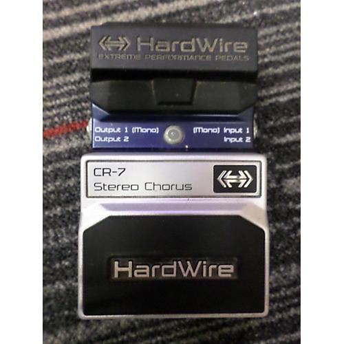 Digitech HardWire Series CR7 Stereo Chorus Effect Pedal