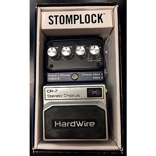 Digitech HardWire Series CR7 Stereo Chorus Effect Pedal-thumbnail