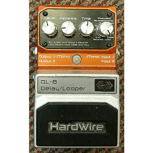 Digitech HardWire Series DL8 Delay/Looper Effect Pedal-thumbnail