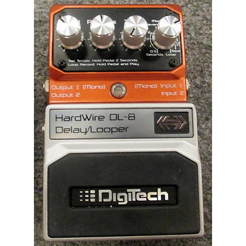 Digitech HardWire Series DL8 Delay/Looper Effect Pedal-thumbnail