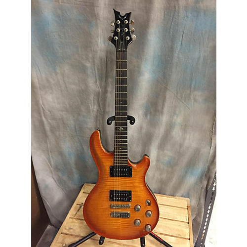 Dean Hardtail Trans Orange Solid Body Electric Guitar-thumbnail