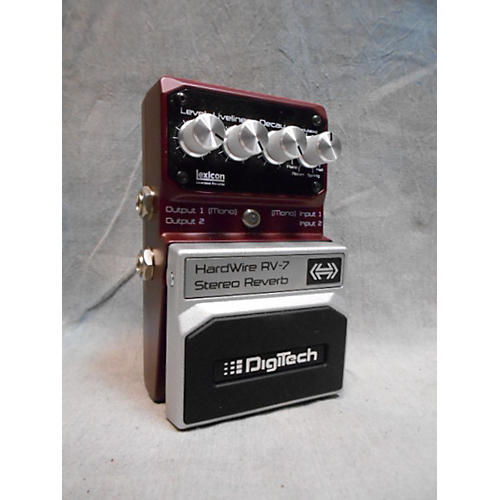 Digitech Hardwire Series RV7 Reverb Effect Pedal