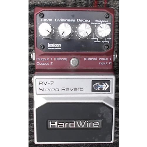 Digitech Hardwire Series RV7 Reverb Effect Pedal-thumbnail