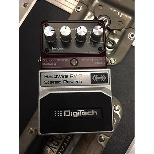 Digitech Hardwire Series RV7 Reverb Effect Pedal