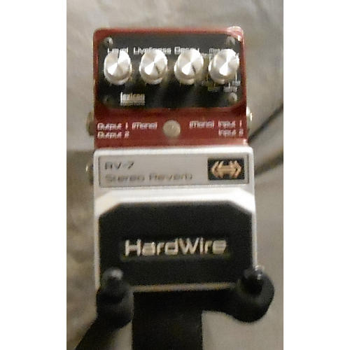 Digitech Hardwire Series RV7 Reverb Effect Pedal-thumbnail