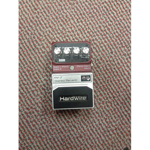 used digitech hardwire series rv7 reverb effect pedal guitar center. Black Bedroom Furniture Sets. Home Design Ideas