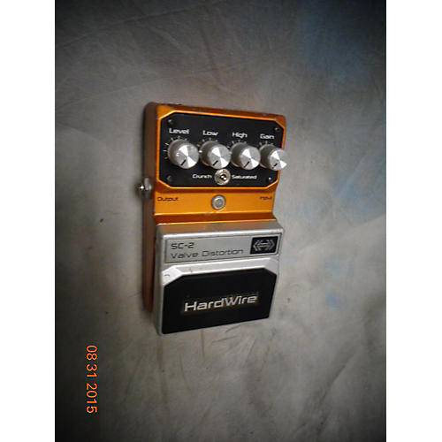 Digitech Hardwire Series SC-2 Valve Distortion Effect Pedal-thumbnail