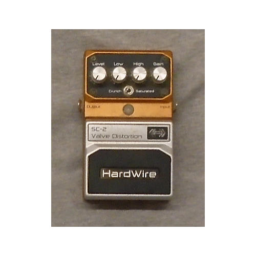 Digitech Hardwire Series SC2 Valve Distortion Effect Pedal-thumbnail