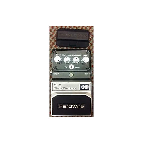 Digitech Hardwire Series TL-2 Metal Distortion Effect Pedal