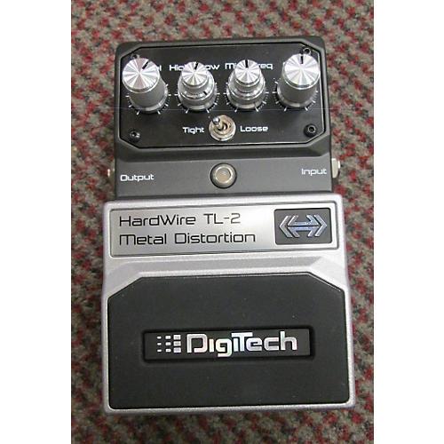 Digitech Hardwire Series TL2 Metal Distortion Effect Pedal-thumbnail