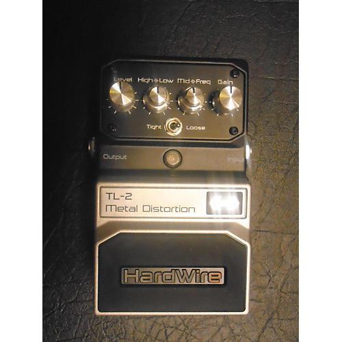 Digitech Hardwire Series TL2 Metal Distortion Effect Pedal
