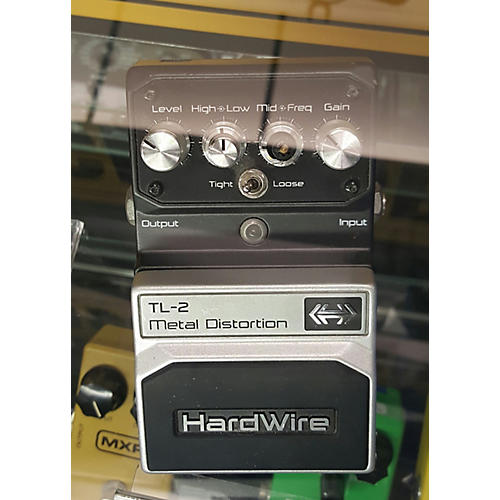 Digitech Hardwire Series TL2 Metal Distortion Effect Pedal-thumbnail