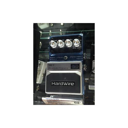 Digitech Hardwire Series TR7 Stereo Tremolo And Rotary Effect Pedal-thumbnail