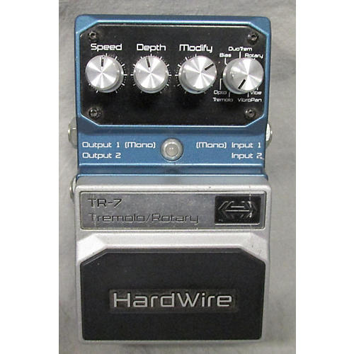 Digitech Hardwire Series TR7 Stereo Tremolo And Rotary Effect Pedal