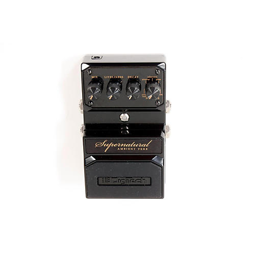 Digitech Hardwire Supernatural Ambient Stereo Reverb 7 Unique Settings Black 888365302157