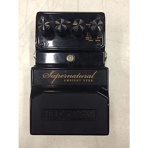 Digitech Hardwire Supernatural Ambient Stereo Reverb Effect Pedal
