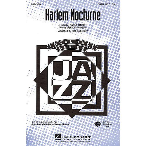 Hal Leonard Harlem Nocturne ShowTrax CD Arranged by Michele Weir