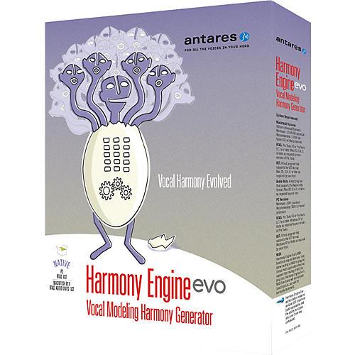 Antares Harmony Engine Evo Vocal Modeling Harmony Generator