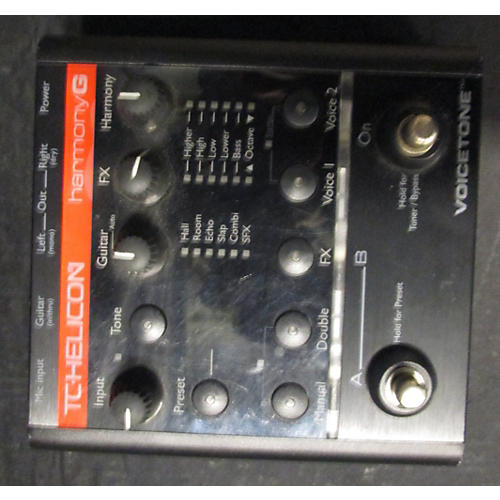 TC Helicon Harmony G Effect Pedal