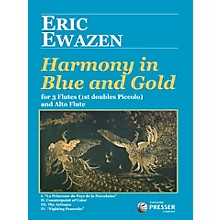 Theodore Presser Harmony In Blue And Gold (Book + Sheet Music)