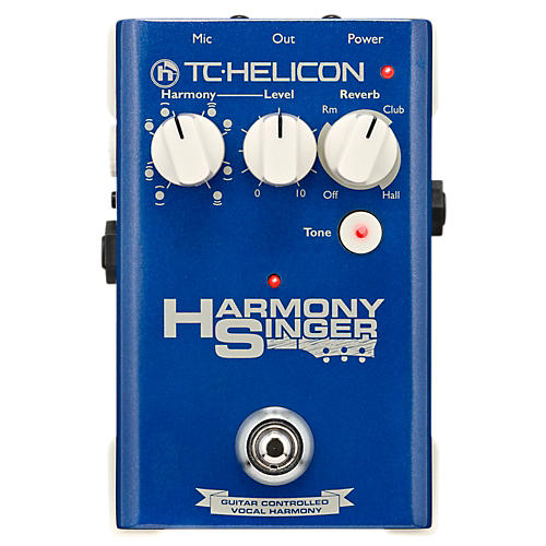 TC Helicon Harmony Singer Effects Pedal-thumbnail