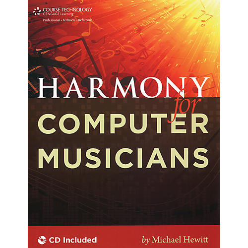 Course Technology PTR Harmony for Computer Musicians Book & CD-thumbnail