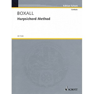 Schott Harpsichord Method for Harpsichord or Spinet Schott Series Softcov... by Schott
