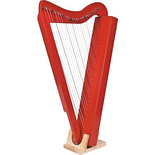 Rees Harps Harpsicle Harp Red