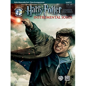 Alfred Harry Potter Instrumental Solos for Strings - Violin Book/CD by Alfred