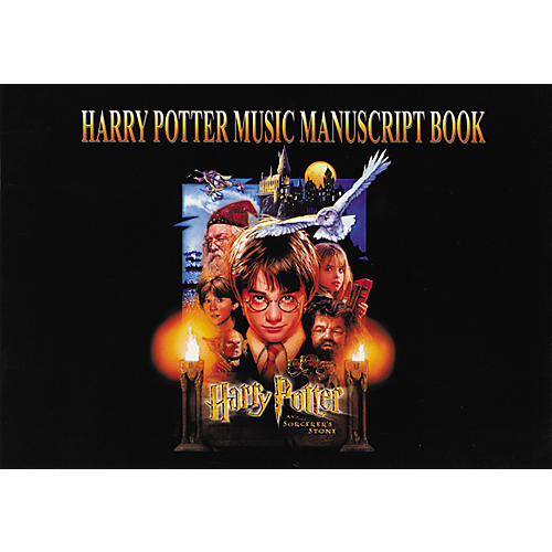 Alfred Harry Potter Music Manuscript Book-thumbnail