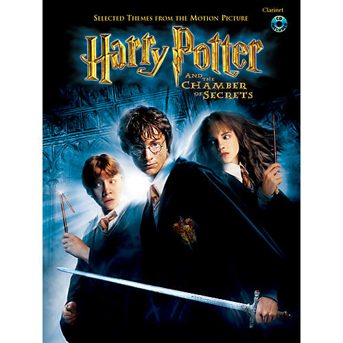Alfred Harry Potter and the Chamber of Secrets: Selected Themes from the Motion Picture Book/CD-thumbnail