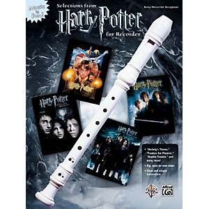 Alfred Harry Potter for Recorder Book by Alfred