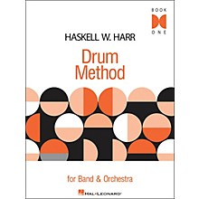 Hal Leonard Haskell W. Harr Drum Method - Book One