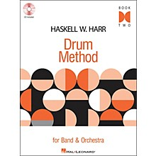 Hal Leonard Haskell W. Harr Drum Method Book 2 Book/CD for Band & Orchestra
