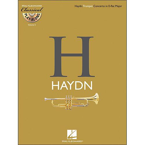 Hal Leonard Haydn: Trumpet Concerto In E-Flat Major Classical Play-Along Book/CD Vol. 5-thumbnail