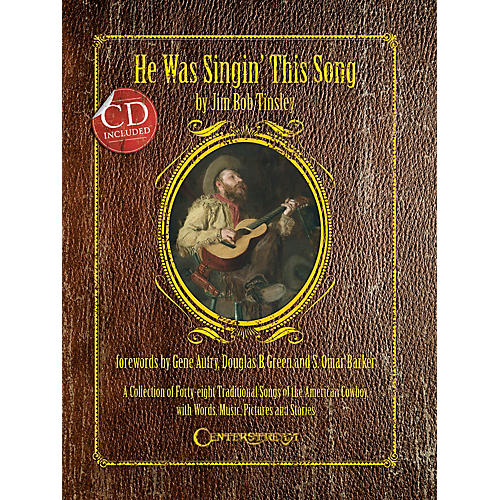 Centerstream Publishing He Was Singin' This Song (Softcover) Reference Series Softcover with CD Written by Jim Bob Tinsley