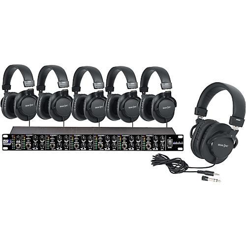 ART HeadAmpPro6 Headphone Amp with 6 Headphones