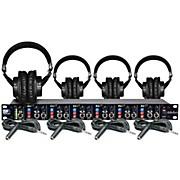 Art Headamp6 Tascam TH-200X 4 Headphone Package